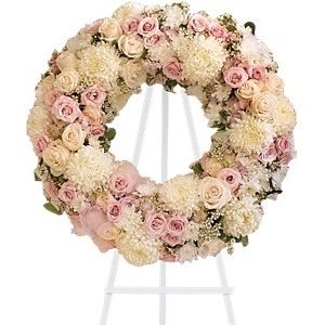 Peace Eternal Wreath $225 -
