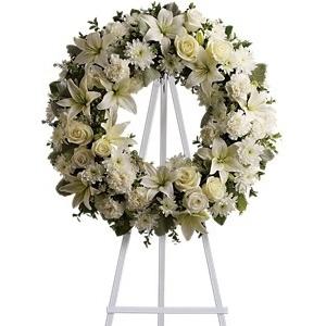 Serenity Wreath $185 -