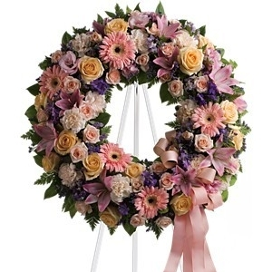 Graceful Wreath $230 -