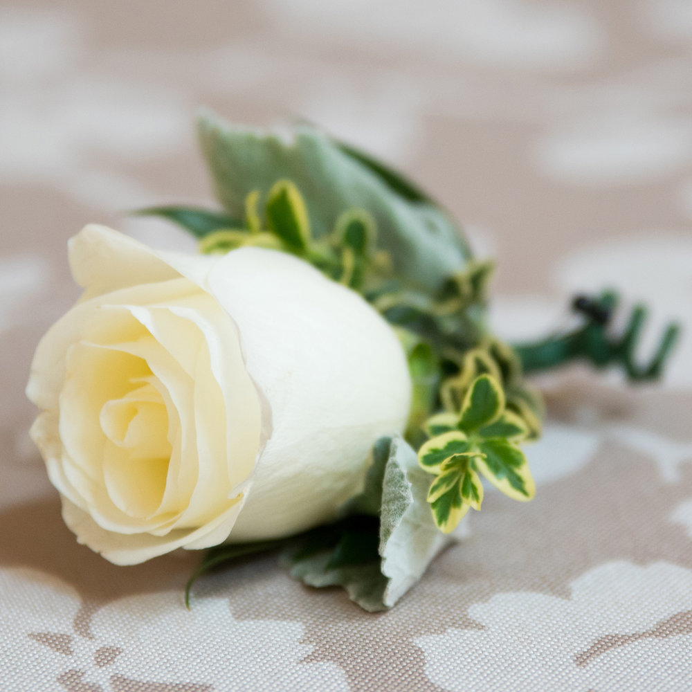 Formal Boutonniere $15 -