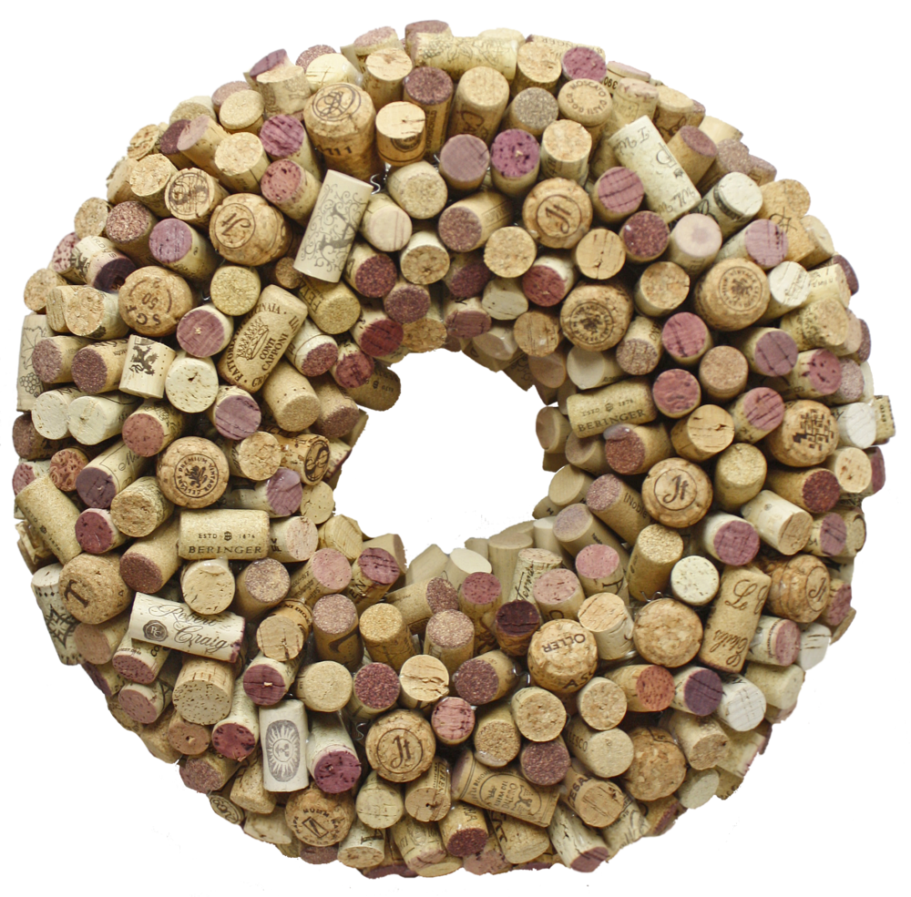 Cork Wreath $60 -
