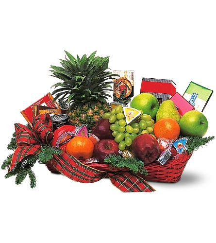 Fruit and Gourmet Basket $95-$140 -