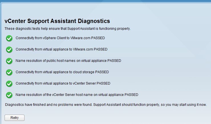 VMware Support Assistant Appliance — ToddMace io