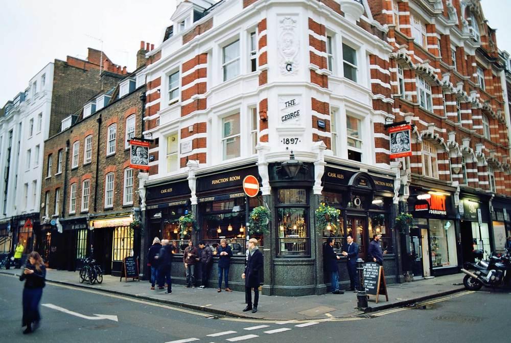 The George, D'Arblay Street