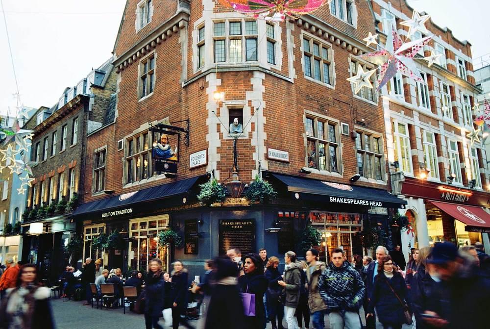 Shakespeares Head, Carnaby Street