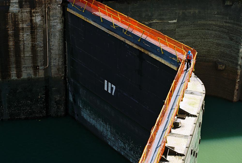Sluice Gate, Panama Canal