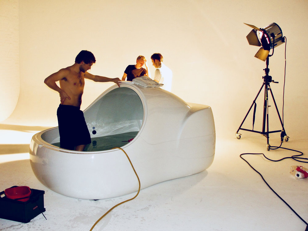 Product Photoshoot in London, 2011.