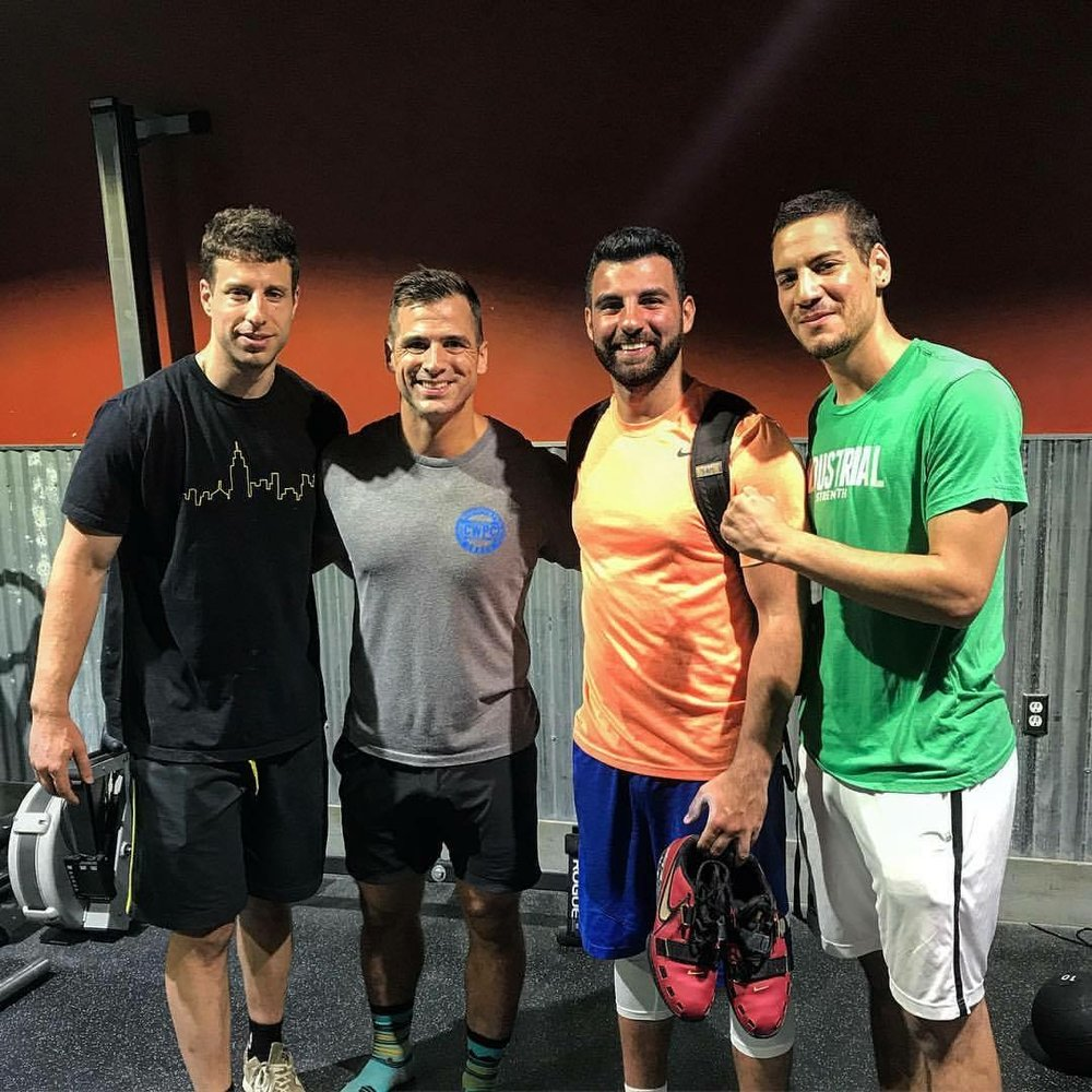 The ILP coaches getting after some olympic lifting education from Wil Fleming this past weekend. #learningbydoing