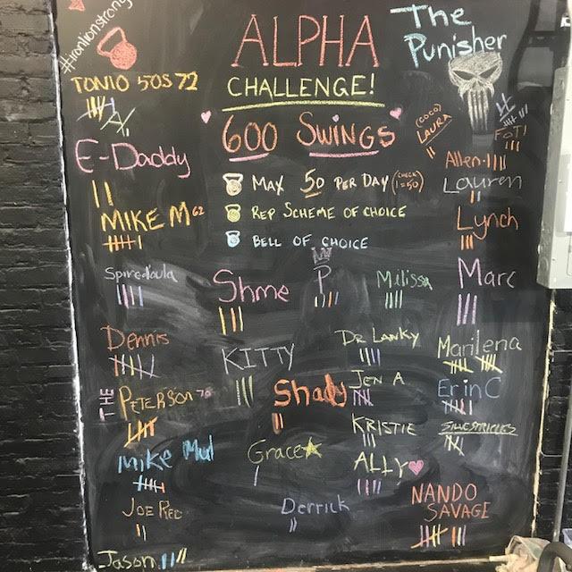 Febuary's Alpha Challenge