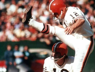 DON COCKROFT   Kicker (1968-1980)  Cleveland Browns
