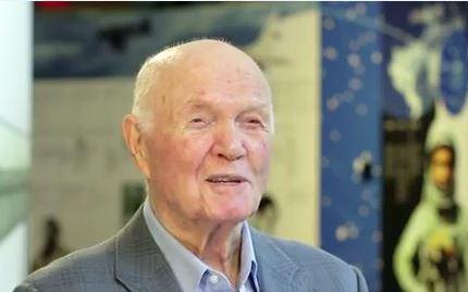 john glenn U.S. Marine Aviator, Astronaut, and senator