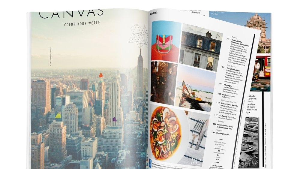 Canvas - Identity, Web, Editorial, Promotional