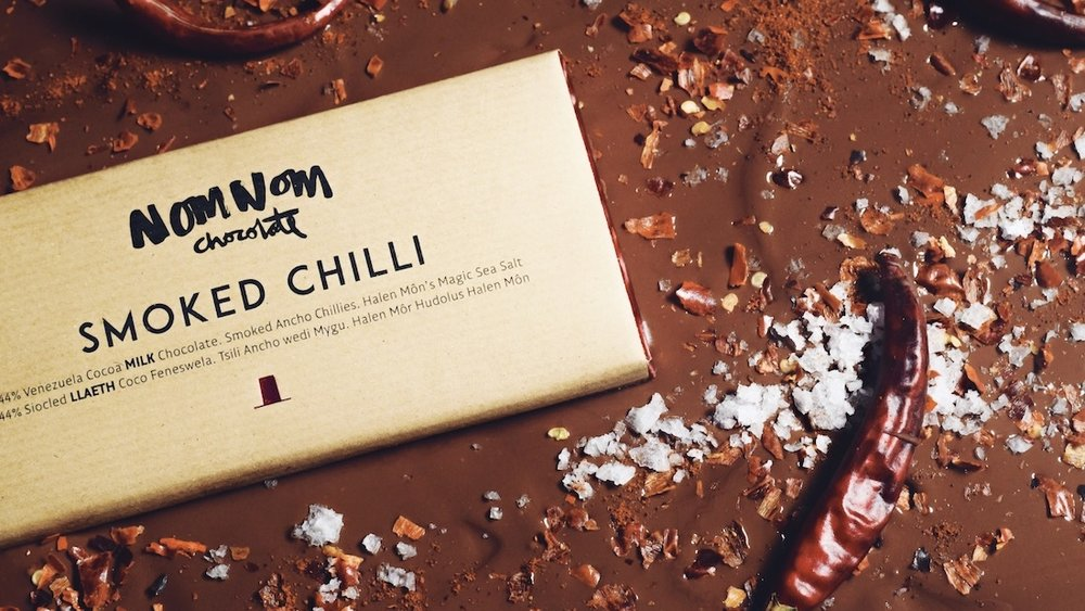 NOMNOM Chocolate: 11 New Flavours - Packaging, Ad Campaigns