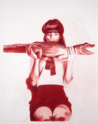 03_Kojii_drawing_by_Mercedes_Helnwein_Crocodile_1.jpg