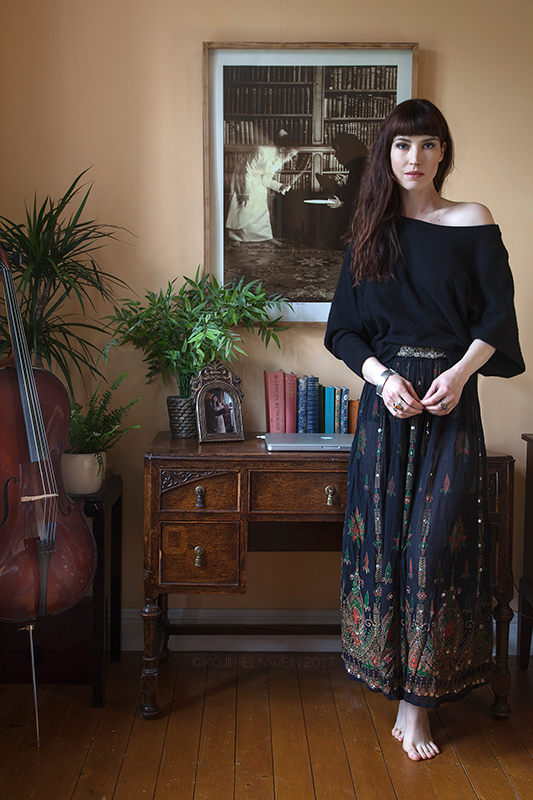 At home in an Irish castle - with Kojii HelnweinThe model turned actor on her favourite things: a bedside table and her beloved motorcycle