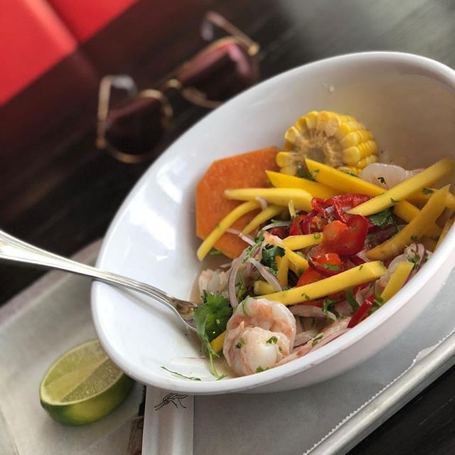 Shrimp Mango Ceviche made with love. @trendyelyboutique . #Ceviche #Mediterranean #Healthy #Yummy #NomNomNom #MiamiEats #GrubHub #OrderOnline #EatRight #HealthyLifestyle #FitLife #Fit #Veg #Veggies #Greens #Lunch #LunchTime #Hungry #LunchBreak #UM #Bite #Yummm #InstaFood #FoodArt #GetNaked #NakedLunch