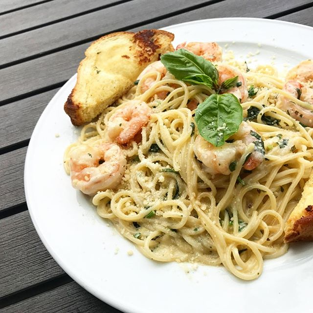 Life is better with Shrimp Scampi.