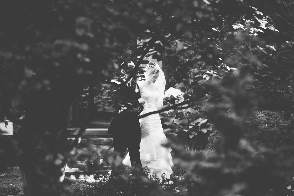 Botanical gardens wedding