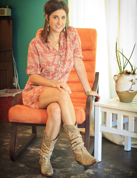 Catherine Cottingham, owner of Catherine Nicole, designer, store owner, and 'socialpreneuer.'