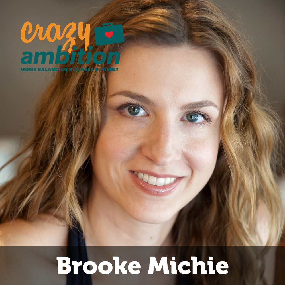 mompreneur Brooke Michie