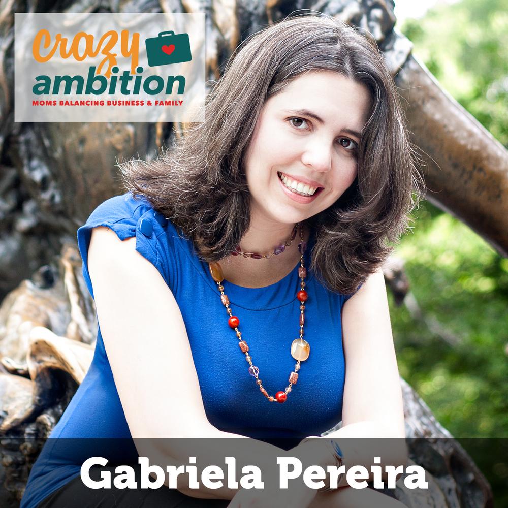 mompreneur Gabriela Pereira