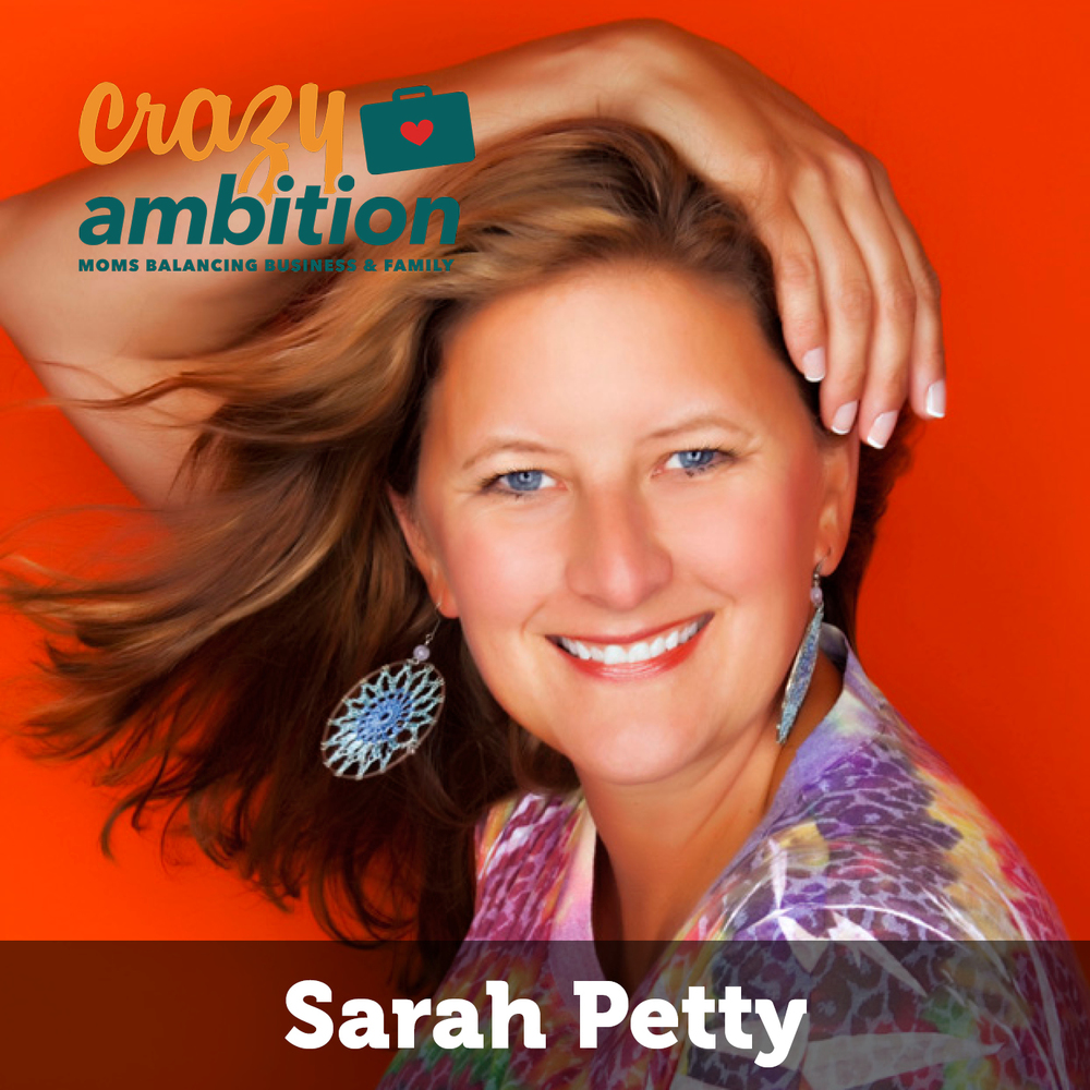 mom business owner and photography studio owner Sarah Petty