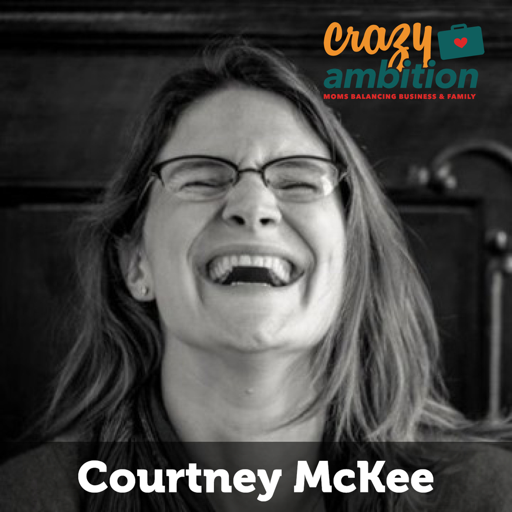 mompreneur courtney mckee of headframe spirits