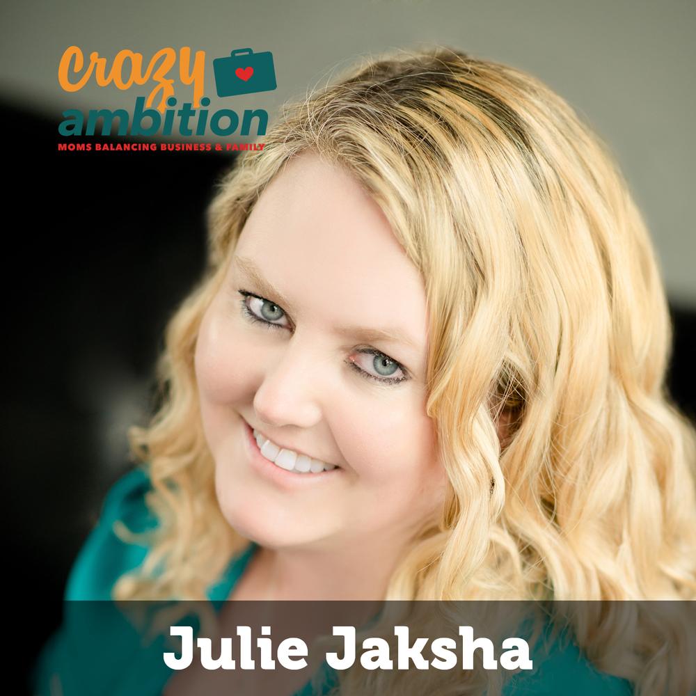 mompreneur Julie Jaksha