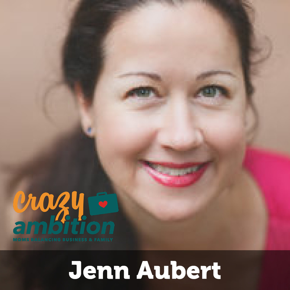 mompreneur Jenn Aubert from Learn Savvy