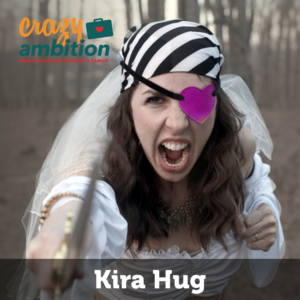 mompreneur Kira Hug