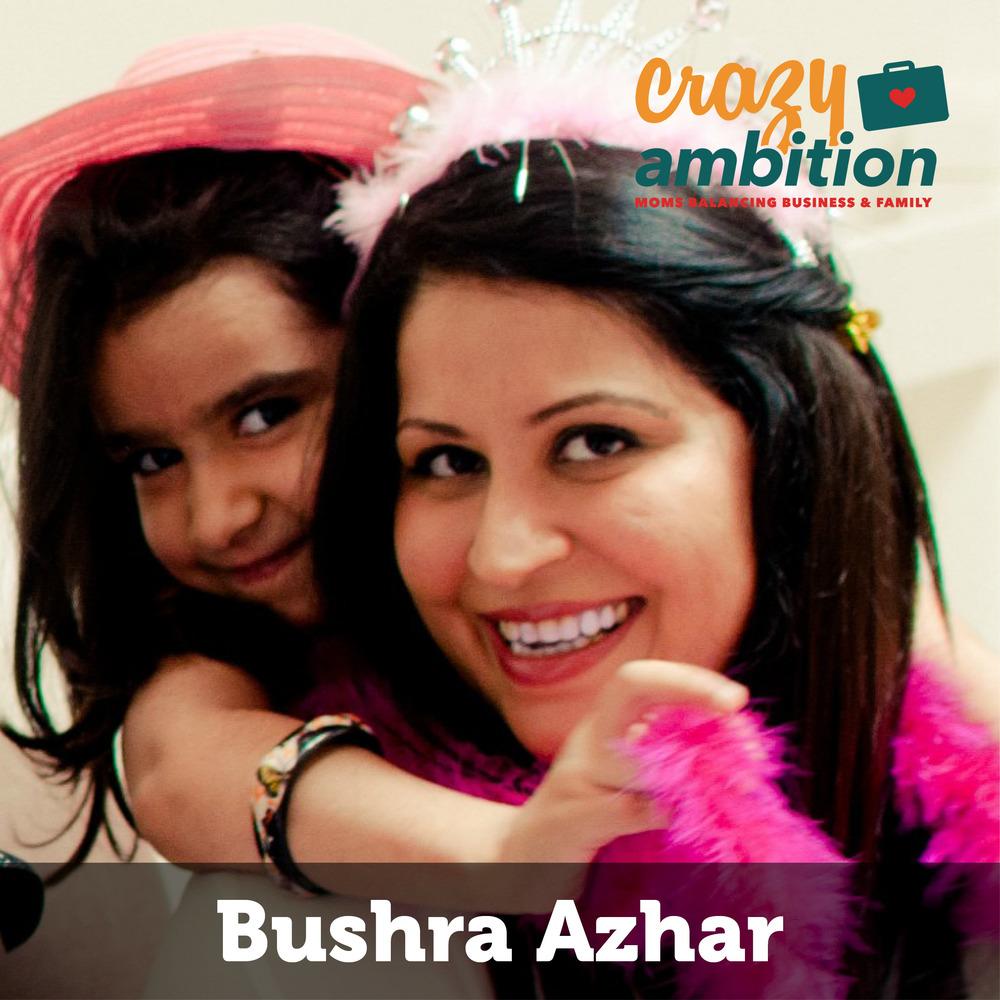 mompreneur Bushra Azhar