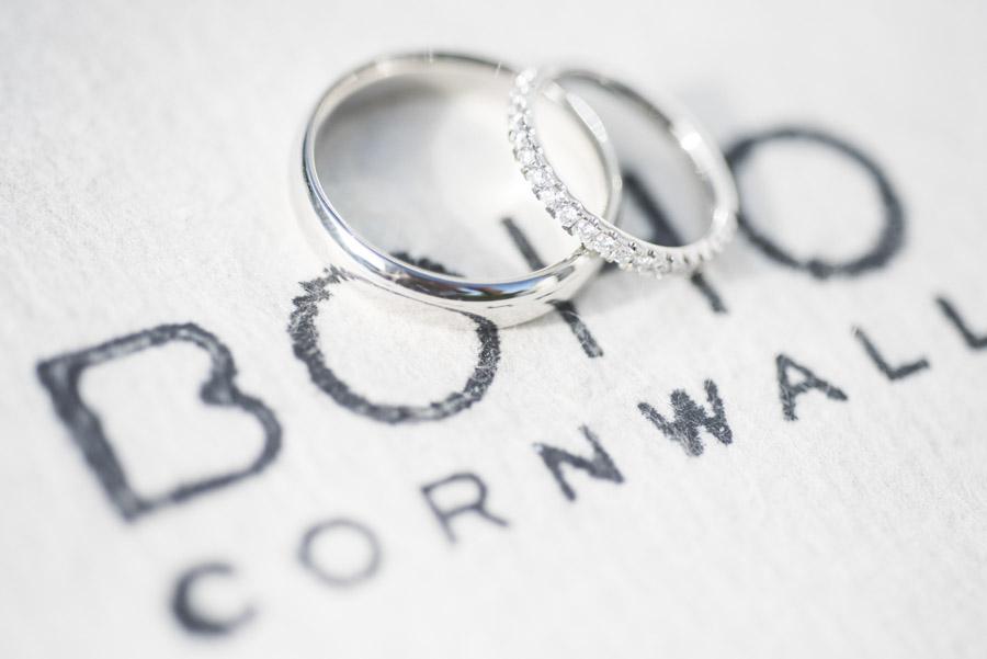Copy of Boho Cornwall wedding rings