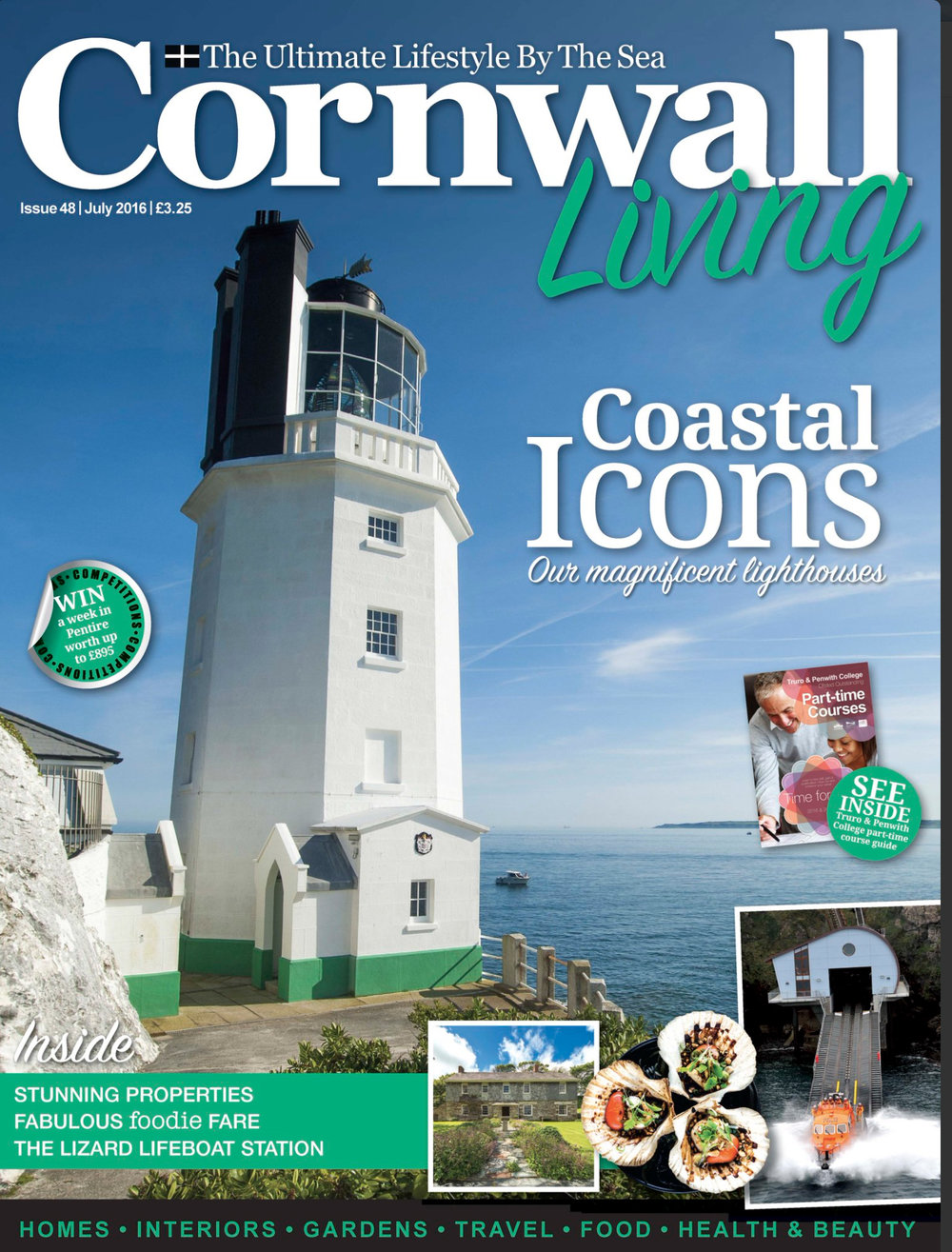 Cornwall Living Cover