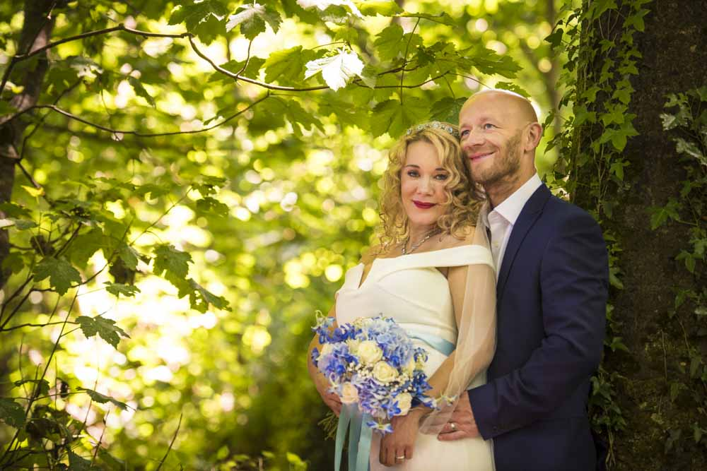 bride and groom in woods.jpg