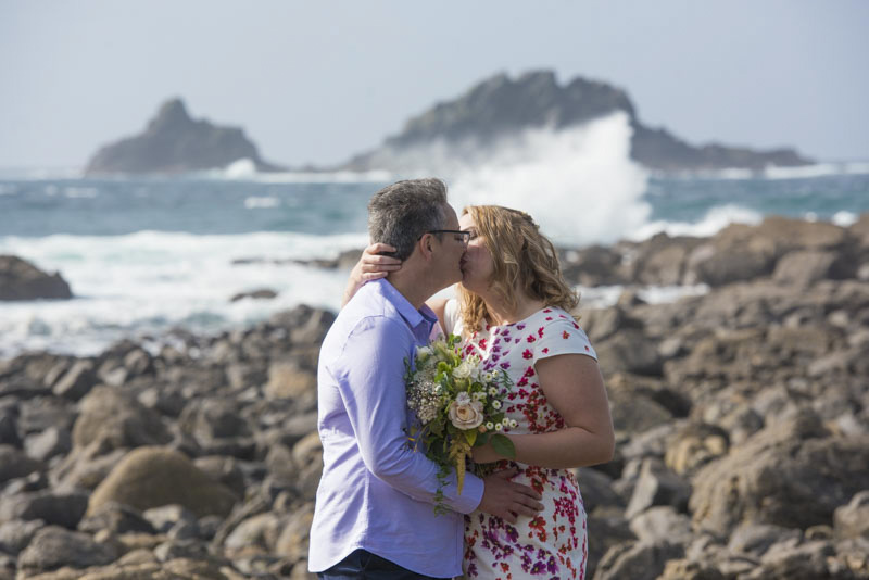 Same sex wedding Cornwall