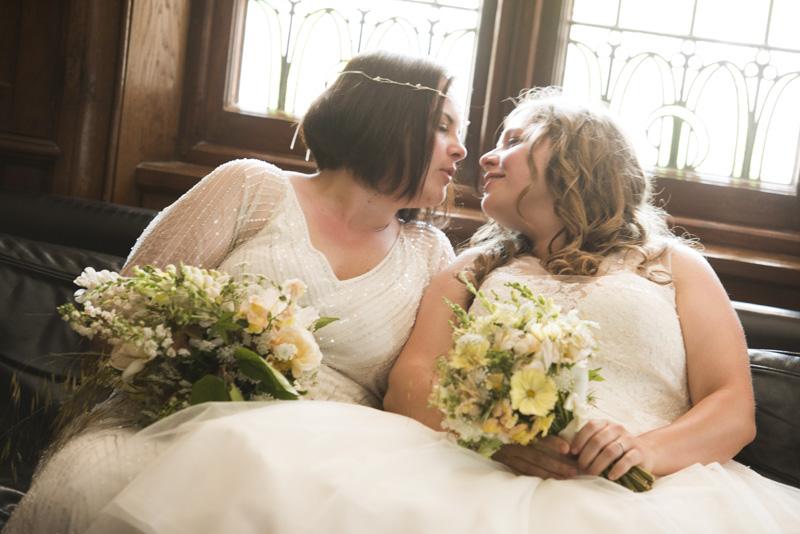 lesbian brides cornwall