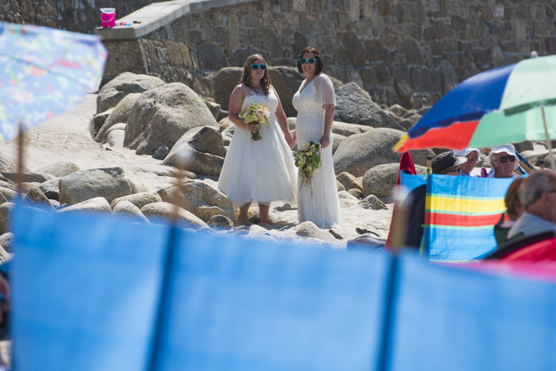 beach wedding same sex