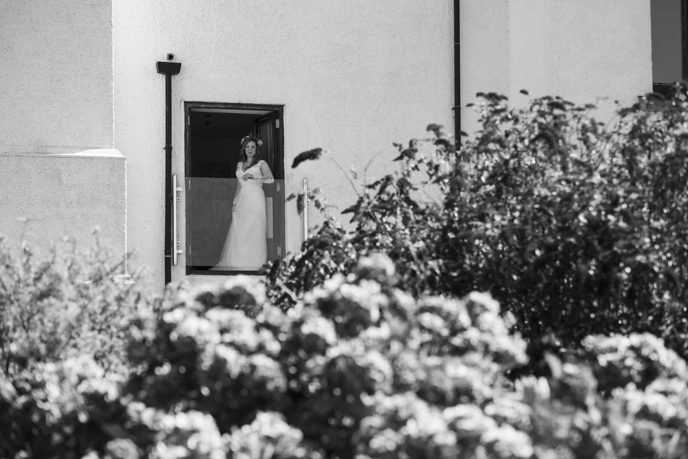bride on balcony