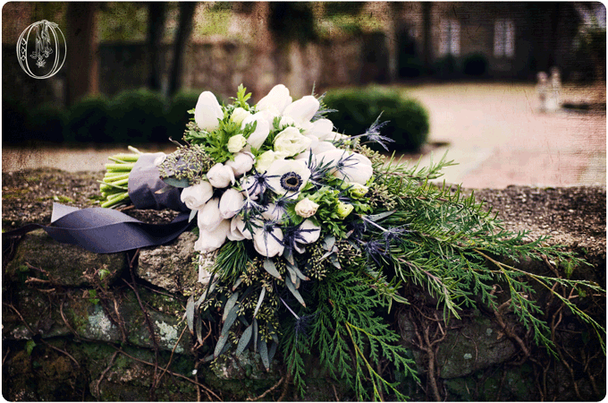 Holly-Hedge-Estate-Winter-January-Anemone-White-Tulip-Evergreen-Bridal-Bouquet-Oleander-Bucks-County-PA-Wedding-Florist