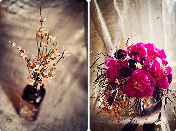 Wine-Orange-Fushcia-Wedding-Palette-Peony-Ginestra-Rananculus-Bouquet-Oleander-NJ-Bucks-County-PA-Wedding-Florist