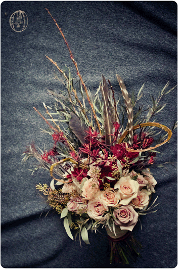 Holly-Hedge-Estate-Fall-Organic-Vintage-Rose-Dahila-Feather-Branch-Bridal-Bouquet-Oleander-New-Jersey-Bucks-County-Wedding-Florist