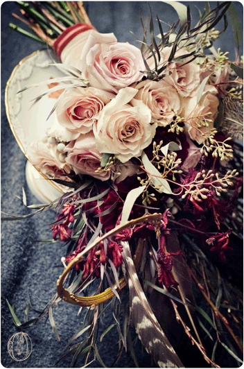 Holly-Hedge-Estate-Fall-Rustic-Vintage-Dark-Feather-Branch-Rose-Dahlia-Bridal-Bouquet-Oleander-New-Jersey-Bucks-County-Wedding-Florist-Floral-Design
