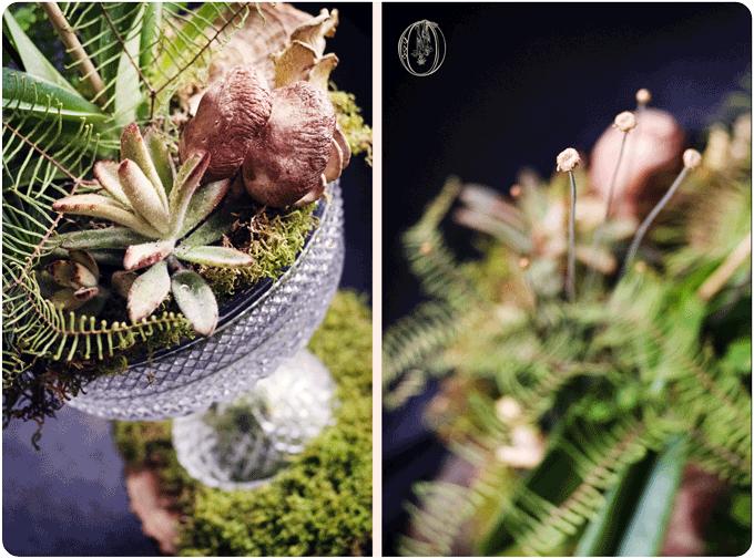 Holly-Hedge-Estate-Rustic-Woodland-Succulent-Mushroom-Fern-Centerpiece-Oleander-New-Jersey-Bucks-County-Wedding-Florist-Floral-Design