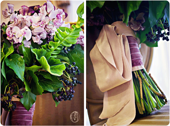Nassau-Inn-Princeton-NJ-Purple-Green-Spring-Sweet-Pea-Fern-Privet-Grosgrain-Bouquet-Oleander-NJ-Bucks-County-Wedding-Florist