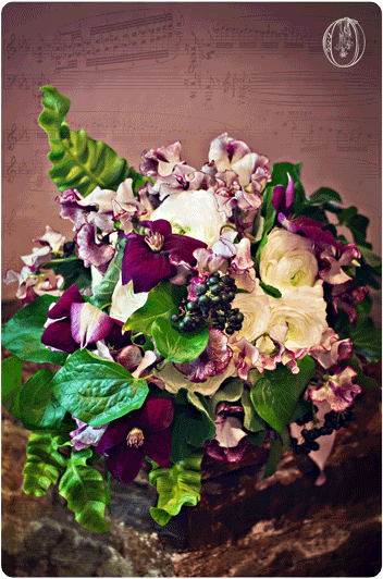 Spring-Purple-Woodland-Clematis-Privet-Fern-Bridal-Bouquet-Nassau-Inn-Princeton-Oleander-NJ-Bucks-County-Wedding-Florist