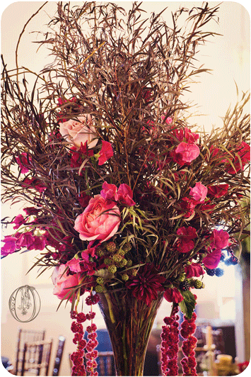 Holly--Hedge-Estate-Tall-Fall-Burgandy-Brown-Pink-Grass-Garden-Rose-Dahlia-Branch-Floral-Centerpiece-Oleander-New-Jersey-Bucks-County-Wedding-Florist