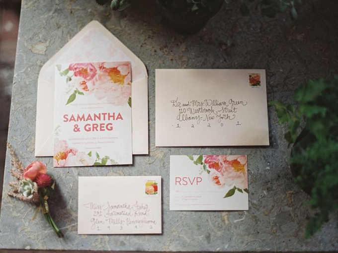 Bohemian-Miss-Wyolene-Peony-Wedding-Invitation-Floral-Hair-Crown-Gold-Pink-Coral-Succulent-Rananculus-Boutonniere-Rustic-Wedding-BHLDN-Anthropologie-Gold-Dress-Terrain-Styers-PA-Oleander-Bucks-County-PA-Philadelphia-Wedding-Florist-Floral-Design-Event