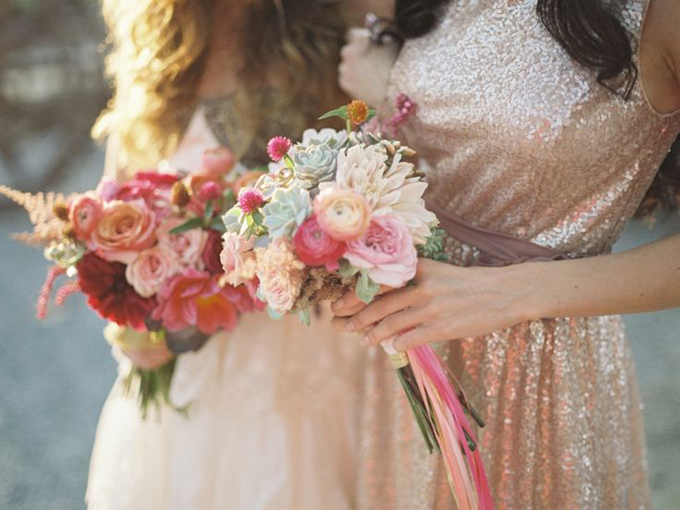 Bohemian-Ombre-Summer-Gold-Pink-Coral-Dahlia-Rose-Succulent-Rananculus-Bouquet-Rustic-BHLDN-Anthropologie-Gold-Dress-Flower-Wall-Floral-Hair-Crown-Terrain-Styers-PA-Lauren-Fair-Oleander-Bucks-County-PA-Philadelphia-Wedding-Florist-Floral-Event-Design