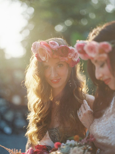 Bohemian-Ombre-Summer-Gold-Pink-Coral-Garden-Rose-Succulent-Rananculus-Bouquet-Rustic-JCrew-BHLDN-Anthropologie-Dress-Floral-Hair-Crown-Terrain-Styers-Philadelphia-PA-Lauren-Fair-Oleander-Bucks-County-PA-New-Jersey-Wedding-Florist-Event-Floral-Design