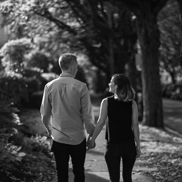 #throwbackthursday to last #fall when these two got engaged! Just a month now til they tie the knot! @nbelojevic @shaunmac . . . #engagement #tbt #autumn #love #wedding #marriage #couple #portraits #canon #blackandwhite